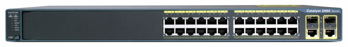 Cisco WS-C2960+24TC-L
