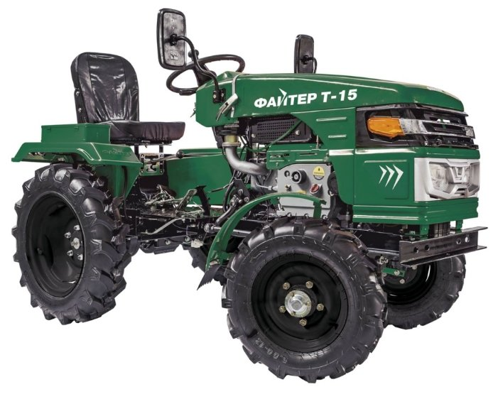 Мини-трактор Файтер T-15 с почвофрезой