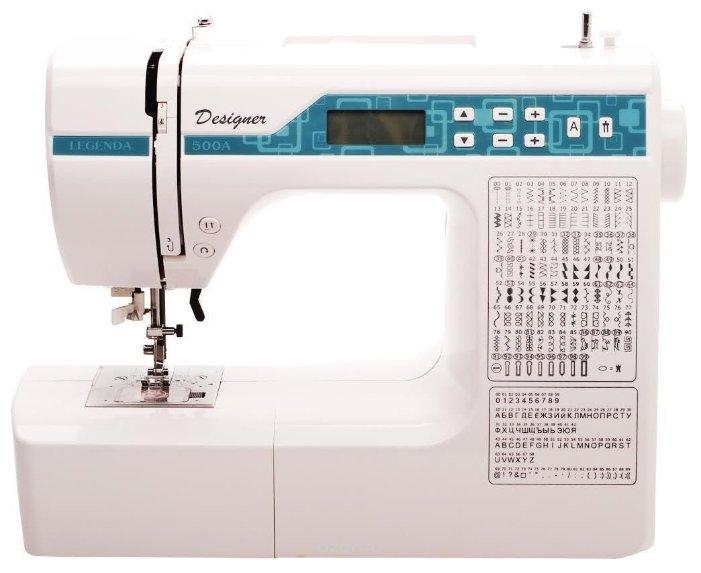 Сравнение с Legenda 500А швейная машина