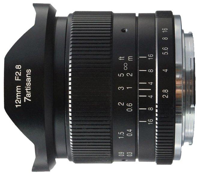 Объектив 7artisans 12mm f/2.8 Micro 4/3