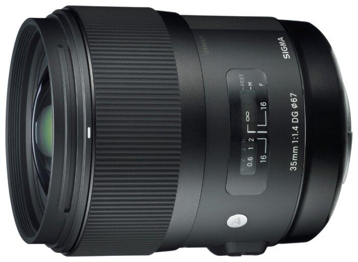 Sigma Объектив Sigma AF 35mm f/1.4 DG HSM Art Canon EF