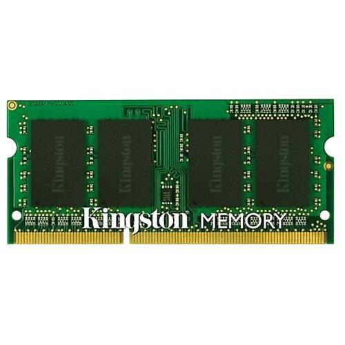 Купить Оперативная память Kingston DDR3 1600 (PC 12800) SODIMM 204 pin, 2 ГБ 1 шт. 1.5 В, CL 11, KVR16S11S6/2