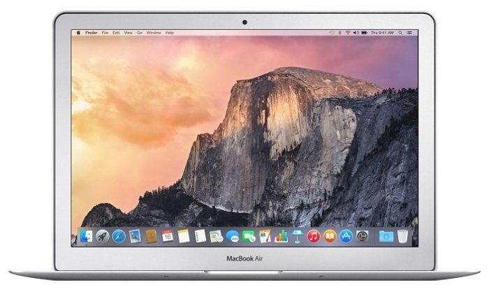 Ноутбук Apple MacBook Air (MMGF2RU/A) серый (13.3
