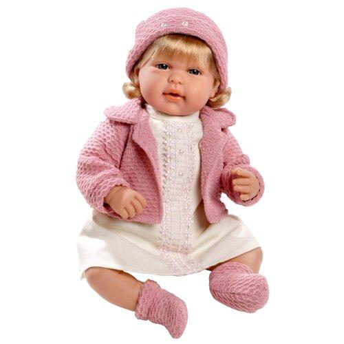 Купить Интерактивный пупс Arias Elegance в розовой одежде, 45 см, Т11135, Куклы и пупсы