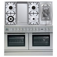 Плита ILVE PDL-120FR-MP Stainless-Steel