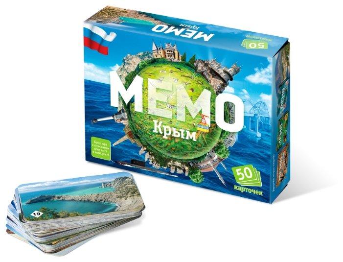 Настольная игра Нескучные игры Мемо Крым