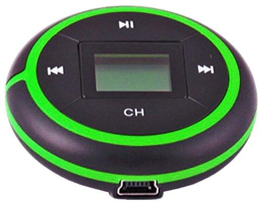 MP3 плеер+FM трансмиттер QUMO RUNNER 4GB black+orange