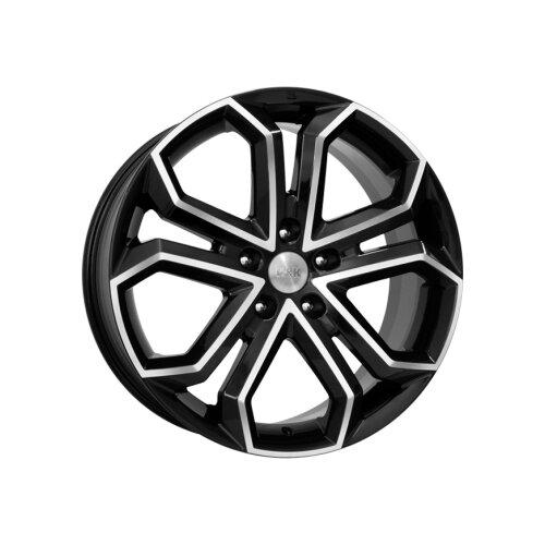 Фото - Колесный диск K&K Пандора 8.5х19/5х120 D67.1 ET45, 16.7 кг, Алмаз черный k