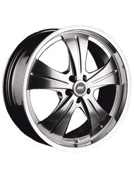 Диски Racing Wheels HF-611 10,0x22 5x120 D74.1 ET45 цвет SPT P - фото 1