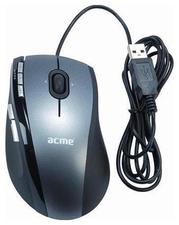 Мышь ACME Multifunctional Mouse MA01 Dark Grey USB
