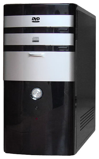 Компьютерный корпус NaviPower A-9003 BK-SR-BK