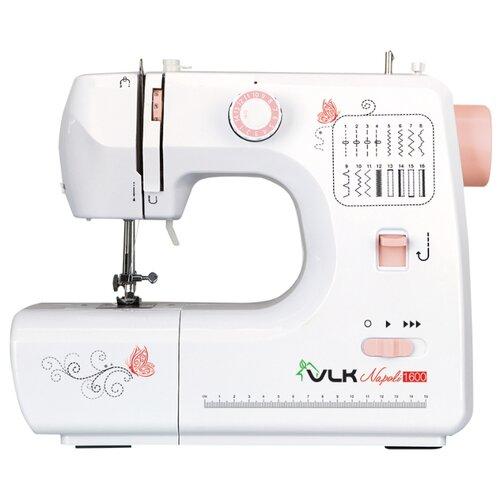 Швейная машина VLK Napoli 1600, бело-розовыйШвейные машины<br>