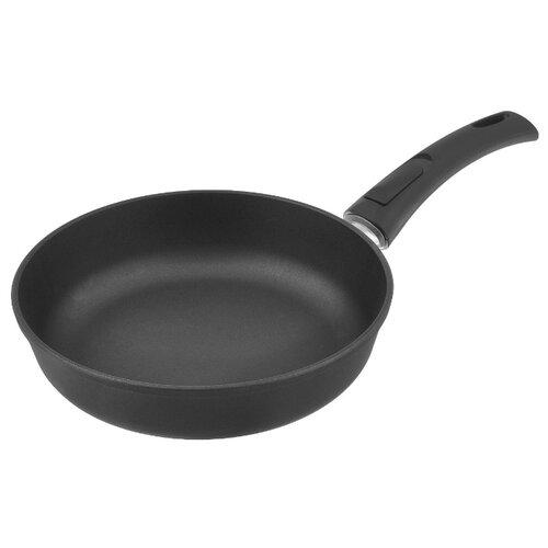 Сковорода НЕВА МЕТАЛЛ ПОСУДА Домашняя 7426 26 см, съемная ручка сковорода вок нева металл посуда природные минералы карелия 233126w 26 см