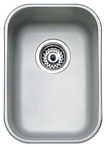 Врезная кухонная мойка TEKA Undermount BE 28.40.18 30.7х43.3см нержавеющая сталь