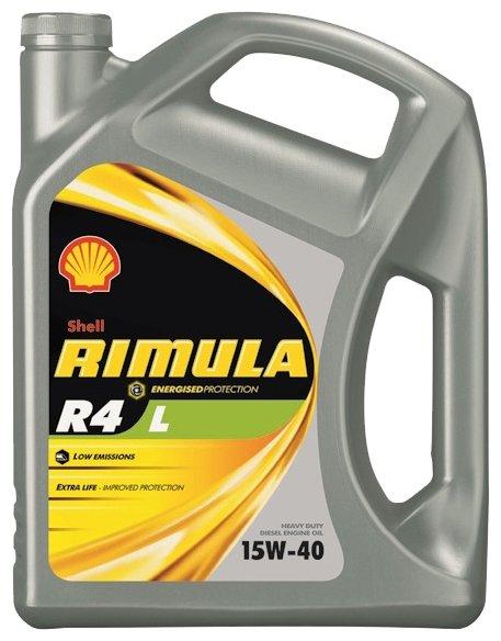 Моторное масло SHELL Rimula R4 L 15W-40 4 л
