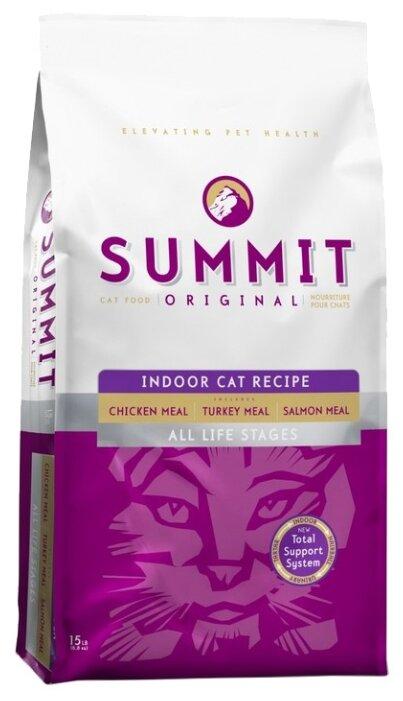 Summit (6.8 кг) Three Meat Indoor Cat Recipe