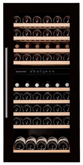 Встраиваемый винный шкаф Dunavox DX-89.215BDBK