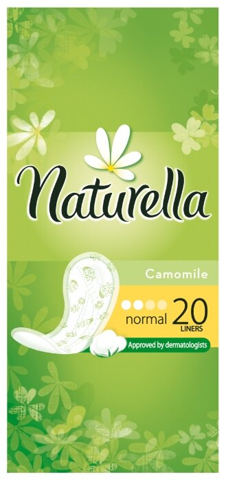 Naturella прокладки ежедневные Camomile Normal daily 20 шт.