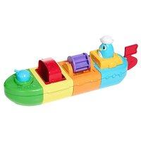 Игрушка для ванной Tomy Веселый пароход (E72453) разноцветный