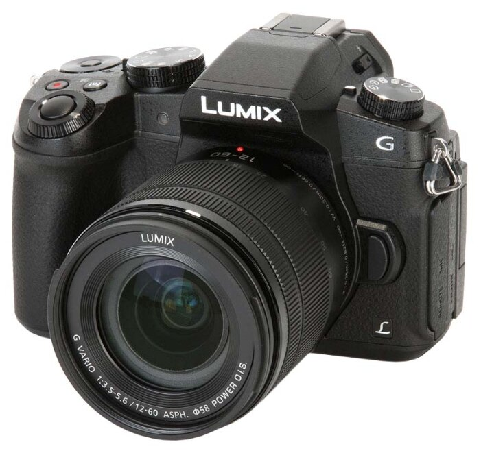 Panasonic Фотоаппарат со сменной оптикой Panasonic Lumix DMC-G80 Kit