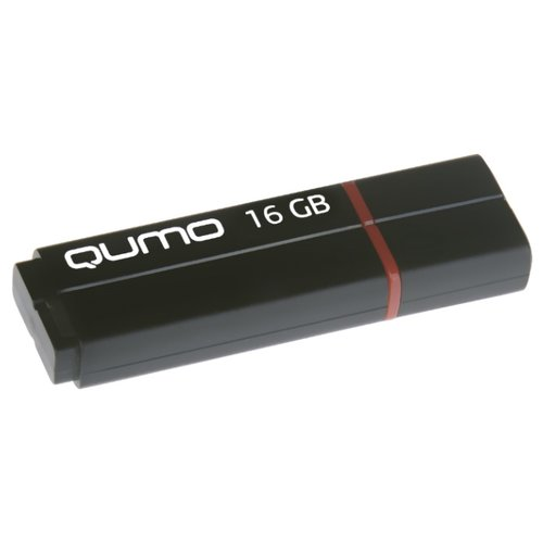 Фото - Флешка Qumo Speedster 16Gb черный внешняя акб qumo poweraid qc 3 0 15600
