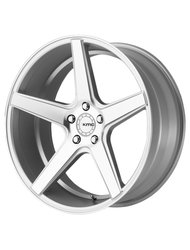 KMC 8,5x20/5x120 ET35 D74,1 KM685 Silver/Machined - фото 1