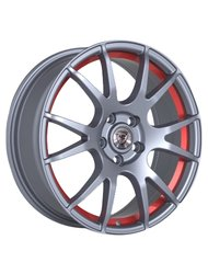 Диски R14 4x98 6J ET38 D58,6 NZ Wheels F-11 BKRSI - фото 1