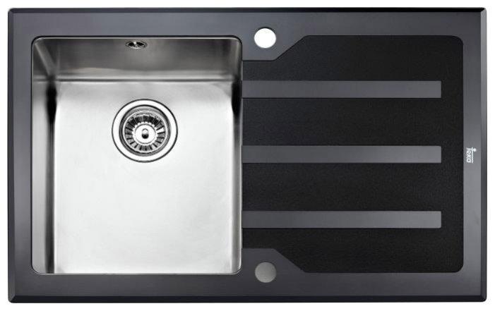 Врезная кухонная мойка TEKA Lux 1B 1D 86