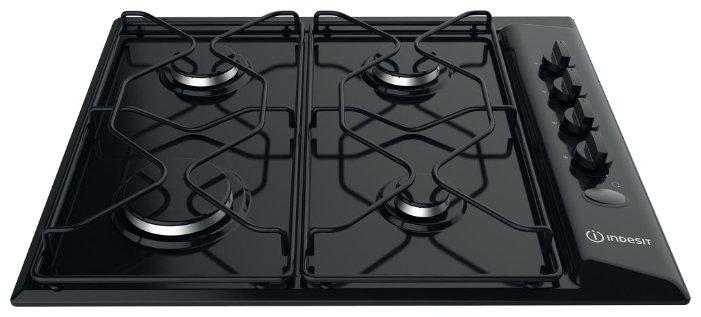 Газовая варочная поверхность Indesit PAA 642 /I(BK) черный