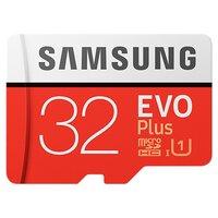 Карта памяти 32GB Samsung MB-MC32GA/RU MicroSDHC Class10 UHS-I UI EVO+ V2 (SD adapter)