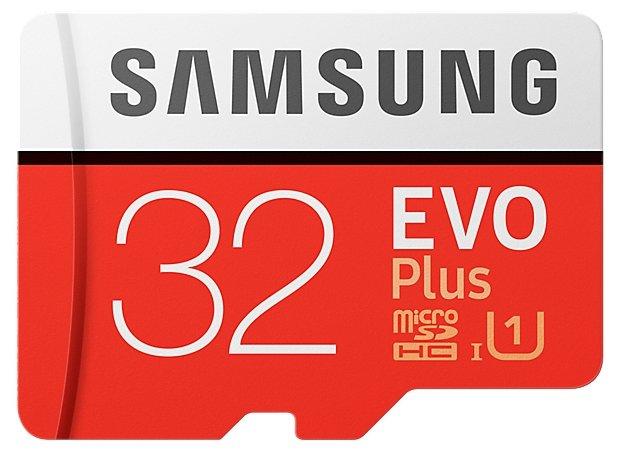 Samsung Карта памяти Samsung microSDHC EVO Plus 95MB/s + SD adapter
