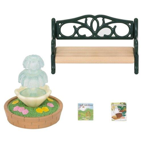 Игровой набор Sylvanian Families Фонтан и скамейка 2243/4535, Игровые наборы и фигурки  - купить со скидкой