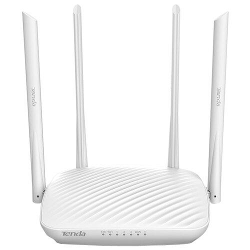 Wi-Fi роутер Tenda F9 белыйОборудование Wi-Fi и Bluetooth<br>
