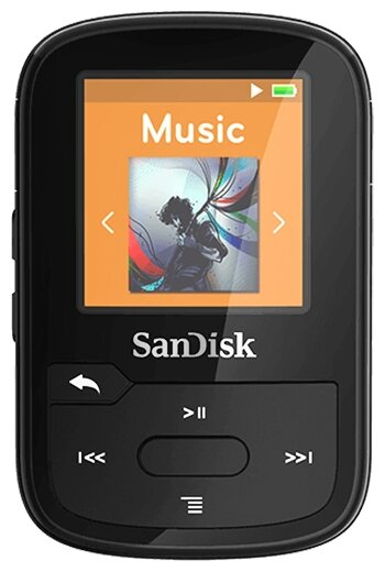 Плеер SanDisk Sansa Clip Sport Plus 16Gb