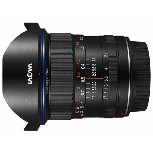 Фото - Объектив Laowa 12mm f/2.8 Zero-D Nikon F объектив laowa 15mm f 4 5 zero d shift nikon z черный
