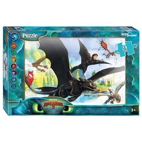 Купить Пазл Step puzzle DreamWorks Драконы (90043), 24 дет., Пазлы