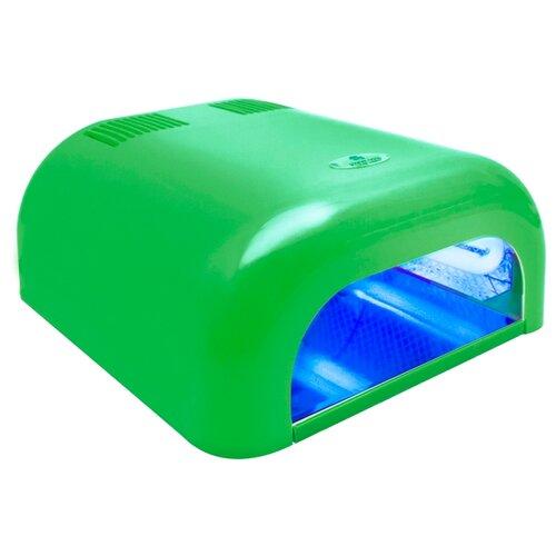 Лампа UV planet nails 36W Tunnel Econom, 36 Вт неоново-зеленая лампа led uv planet nails priority 48 вт белый черный