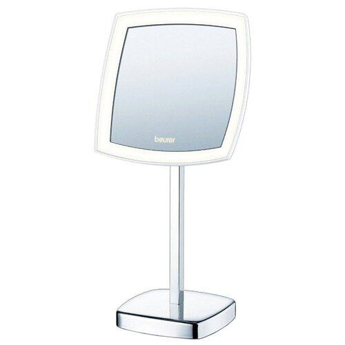 Зеркало косметическое настольное Beurer BS99 с подсветкой серебристый