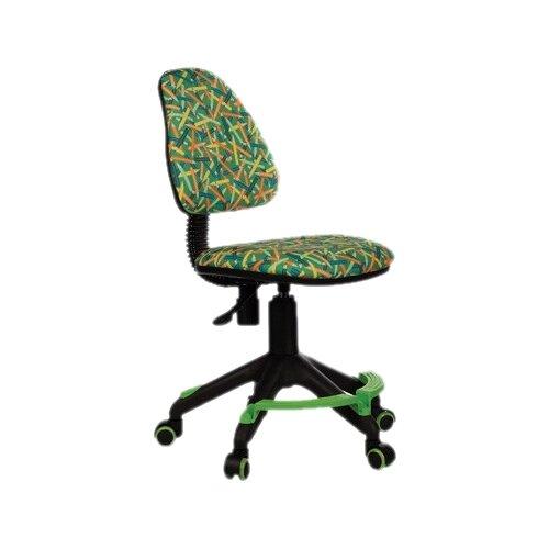 Компьютерное кресло Бюрократ KD-4-F детское, обивка: текстиль, цвет: зеленый карандаши компьютерное кресло бюрократ ch 204nx детское детское обивка текстиль цвет синий карандаши