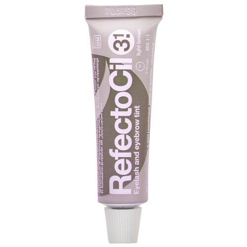 цена на RefectoCil Краска для ресниц и бровей 3.1, light brown