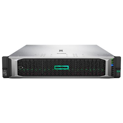 Купить Сервер Hewlett Packard Enterprise Proliant DL380 Gen10 (P02462-B21) 1 x Intel Xeon Silver 4208 2.1 ГГц/16 ГБ DDR4/без накопителей/1 x 500 Вт/LAN 1 Гбит/c