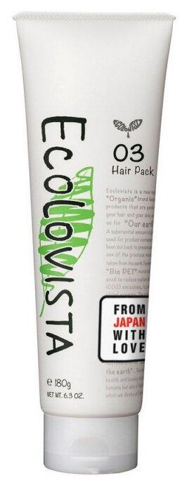 Ecolovista Маска для волос Двойное восстановление