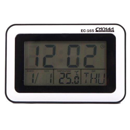 Часы с термометром СИГНАЛ ELECTRONICS EC-165, белый