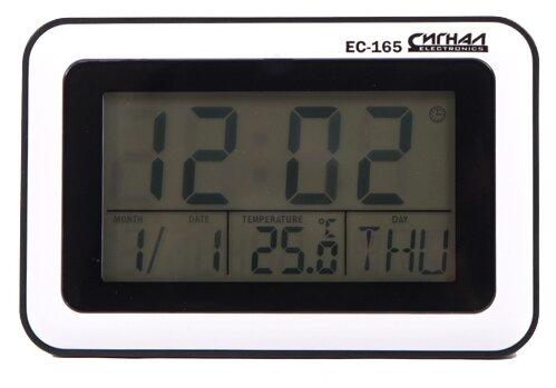Часы с термометром СИГНАЛ ELECTRONICS EC-165 фото 1