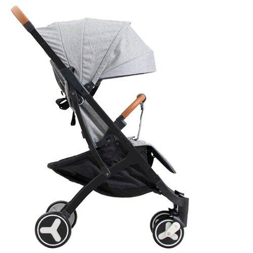 Купить Прогулочная коляска Yoya Plus 3 grey/black frame, цвет шасси: черный, Коляски