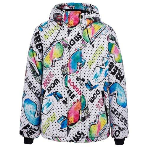 Купить Куртка Button Blue Active 219BBGA4101 размер 128, белый, Куртки и пуховики