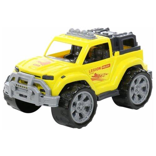 Купить Внедорожник Полесье Легион №3 (76038/76120) 38.5 см желтый, Машинки и техника