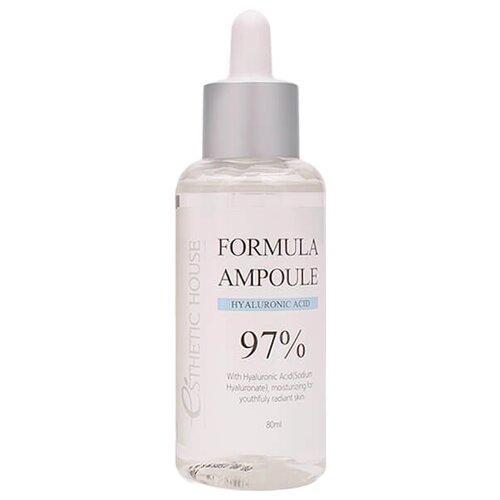 Esthetic House Formula Ampoule Hyaluronic Acid Сыворотка для лица, 80 мл esthetic house formula ampoule ac tea tree сыворотка для лица 80 мл