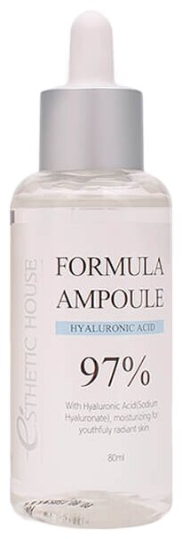 Esthetic House Formula Ampoule Hyaluronic Acid Сыворотка для лица, 80 мл
