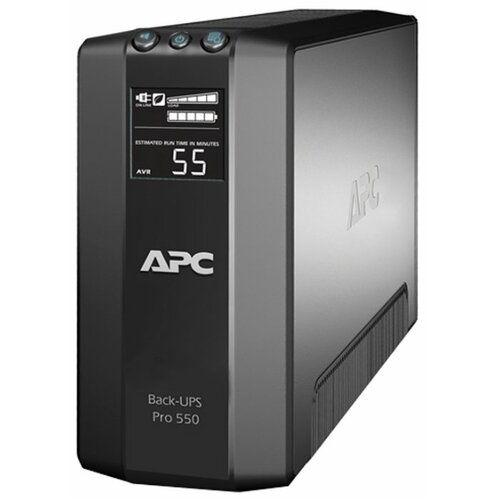 Фото - Интерактивный ИБП APC by Schneider Electric Back-UPS Pro BR550GI аккумуляторная батарея apc by schneider electric smx120rmbp2u 1200 а·ч